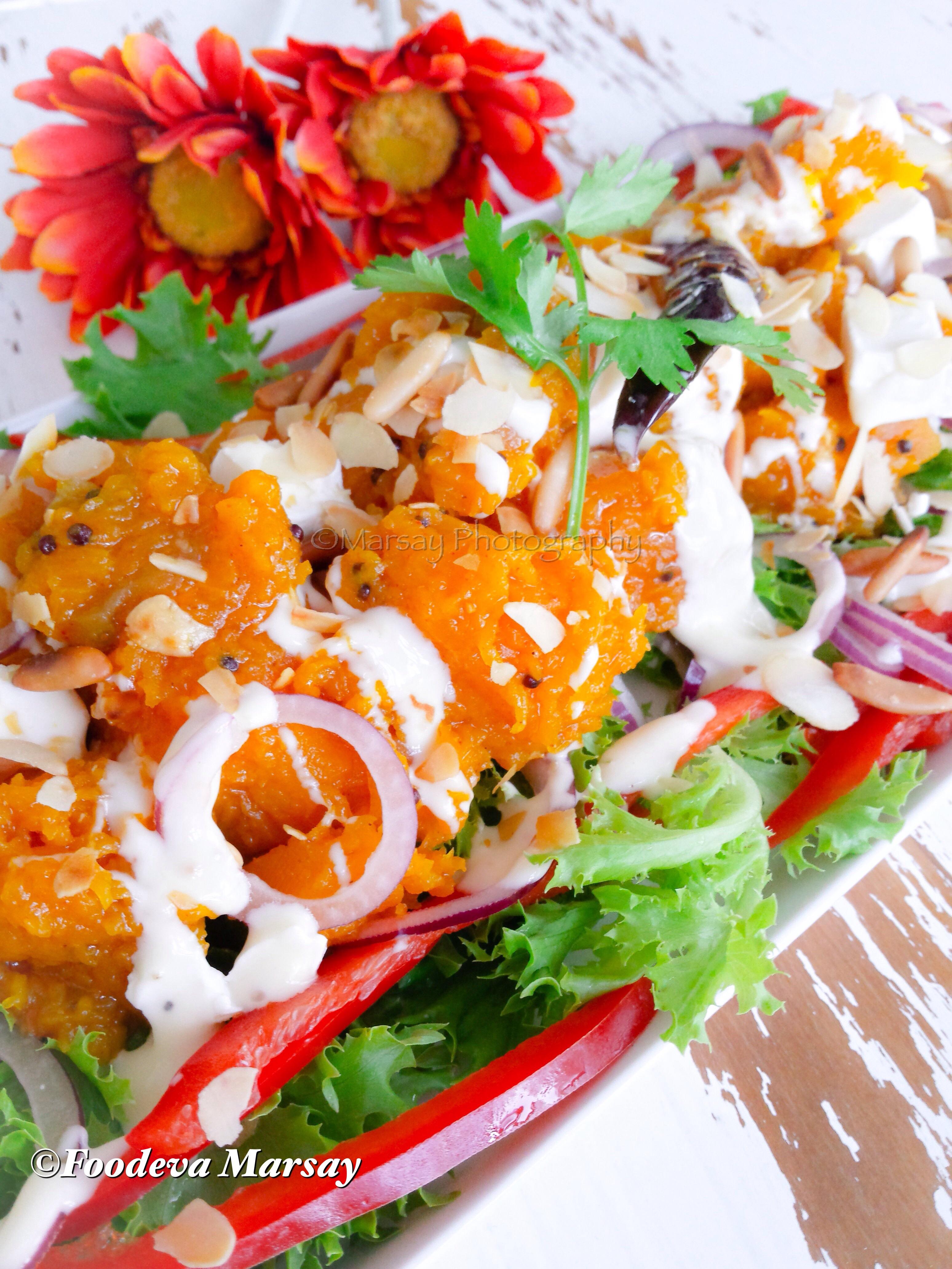 Lightly Spiced Butternut As a Salad Option