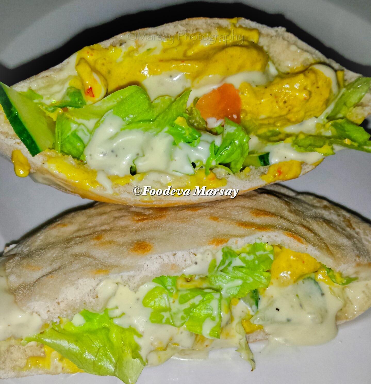 Tasty Nando's Chicken Strips in Pita Breads