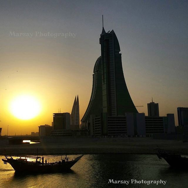 One of Many beautiful Sunrises in Bahrain