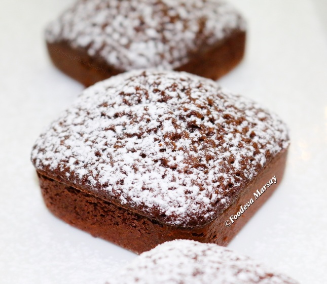 Single Serving Square Brownies