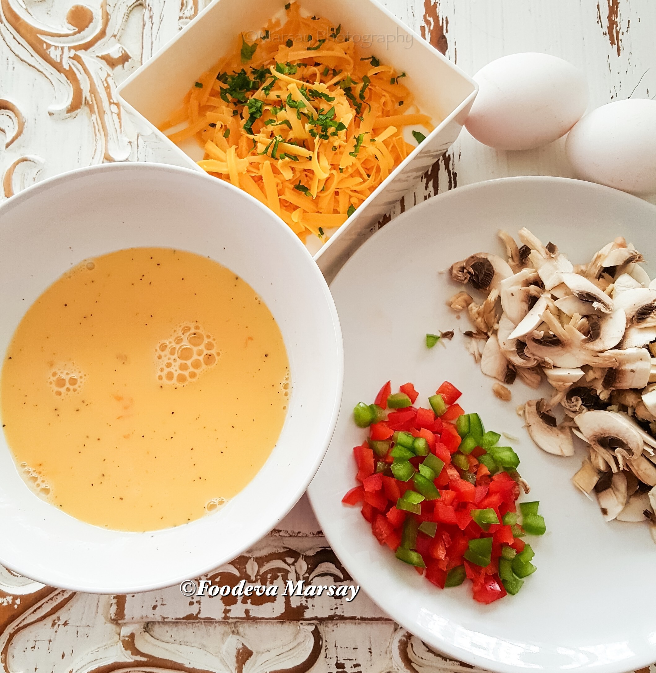 A Simple Omelette Ingredients