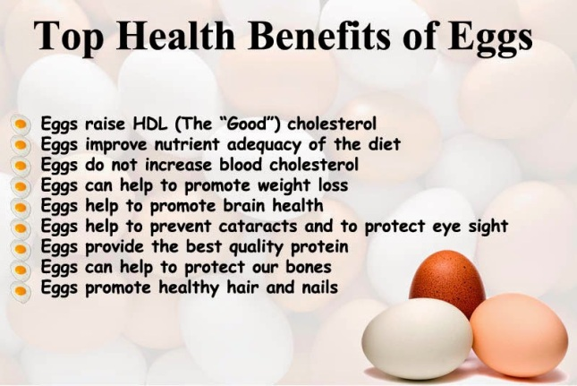 Top Health Benefits of Eggs